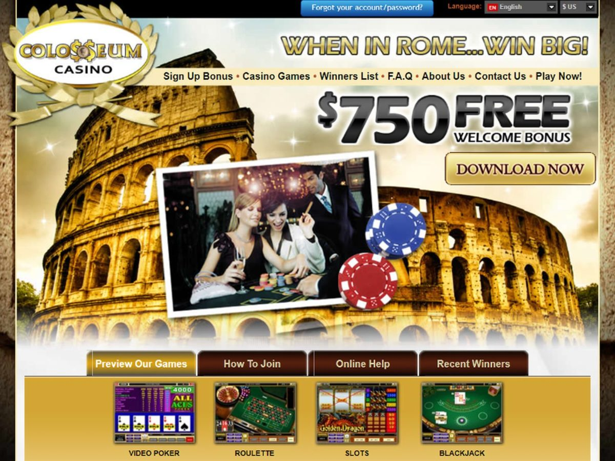 colosseum casino review